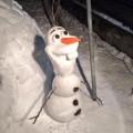 【冰雪奇緣】現實版的雪寶!還原度100%真是太厲害啦!