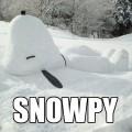 在雪地發現了…咦?
